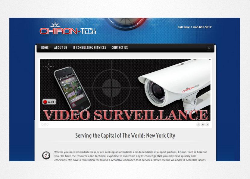 Chiron Tech Screenshot