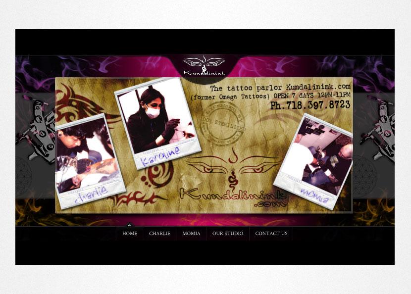 Kundalinink Website Screenshot